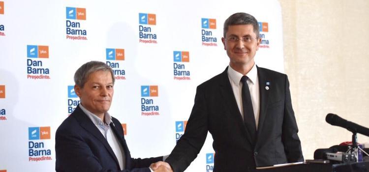 Dan Barna, candidatul Alianței USR PLUS la alegerile prezidențiale, și-a prezentat programul de Președinte la Sibiu