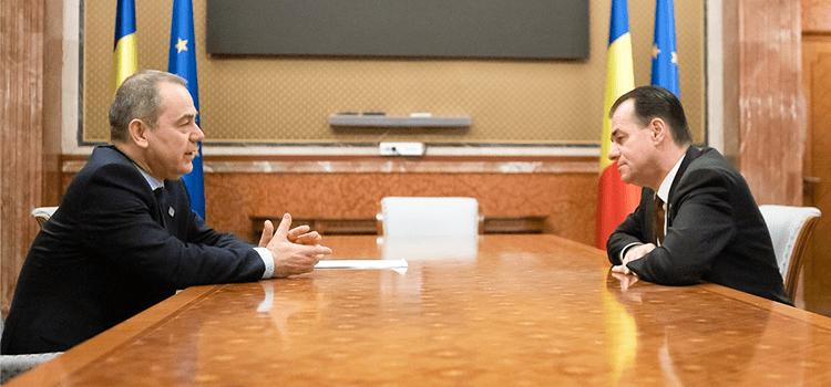 Senatorul Vlad Alexandrescu, întâlnire cu premierul Ludovic Orban pe tema copiilor instituționalizați