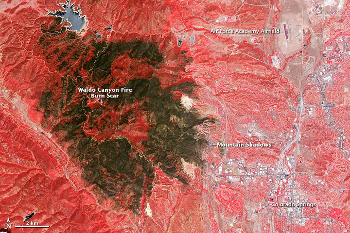 Waldo Canyon Fire Burn Scar