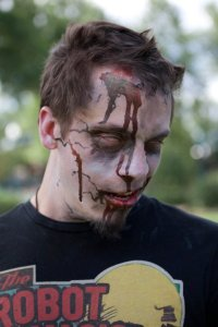 Mike Maley Zombie and Artist