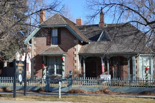 The McAllister House Museum (Credit: Sherrie Horn)