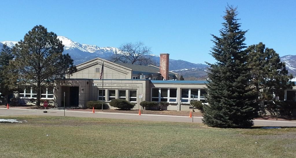 Stratton Elementary School. (Credit: DeLyn Martineau)