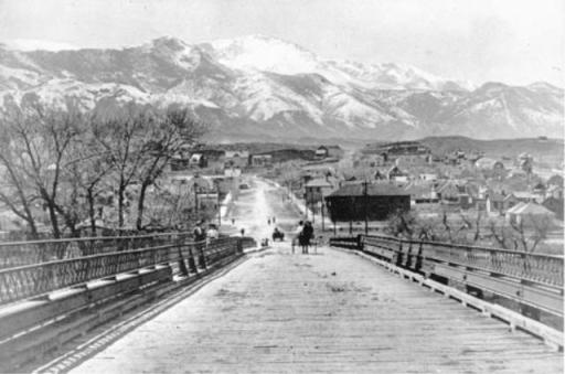 Colorado Springs in 1900. (Credit: Penrose Library Digital Collection)