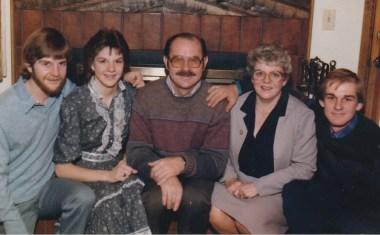 The Fam, 1984. (Credit: Jan Winters)