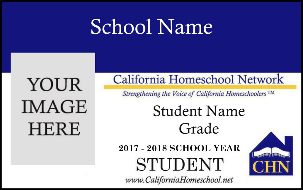 homeschool id card template - school id tag battery powered personal management school