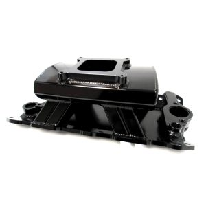 SBC Fabricated Intake Manifold – Black