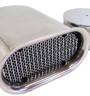 Mini Hillborn Style Aluminum Air Scoop