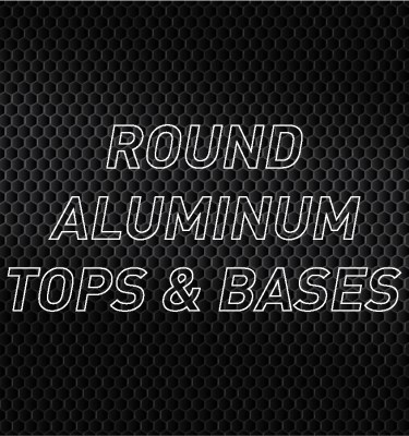 Round Aluminum Air Cleaner Tops & Bases
