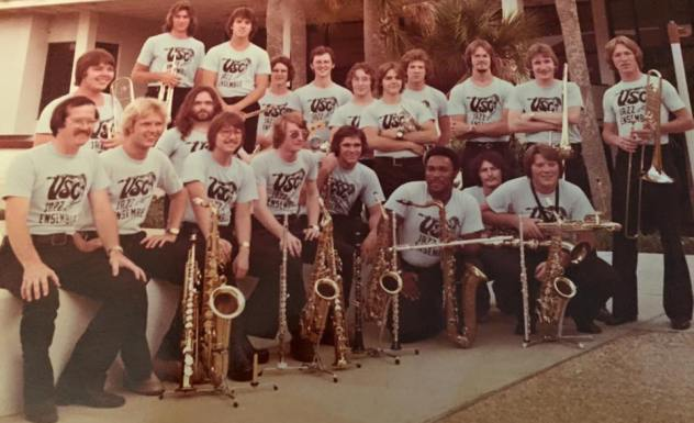 Picture of VSC Jazz Band in 1976