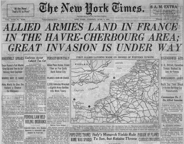 Ships Normandy Invasion German