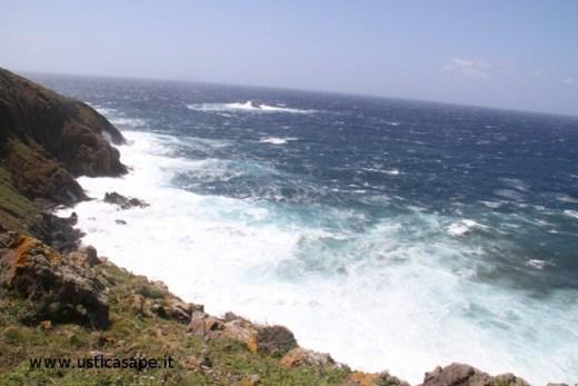 Mare molto mosso Passo della Madonna