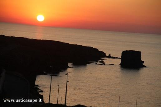 Faraglioni, tramonto