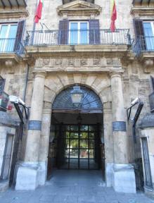 Palazzo d'Orleans a Palermo, sede della presidenza della regione siciliana. ANSA/ RUGGERO FARKAS