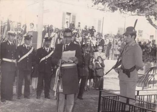 Cerimonia - Sindaco legge messaggio Capo dello Stato