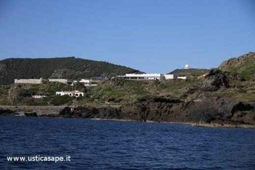 zona spalmatore e radar visti dal mare