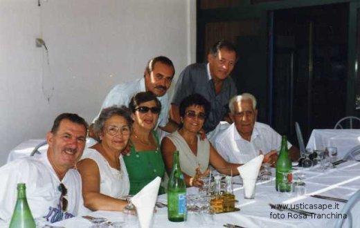 A pranzo con Leonard e Marie Louise