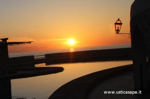 particolari di un tramonto