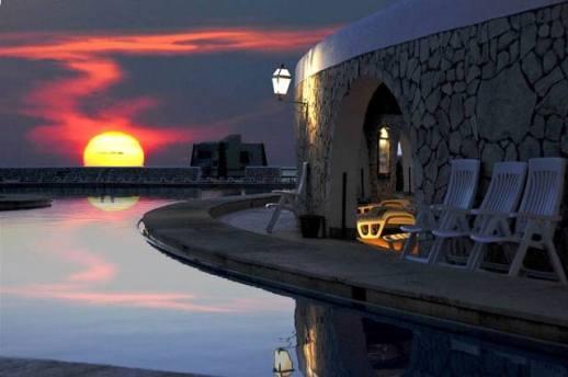 tramonto da Punta Spalmatore