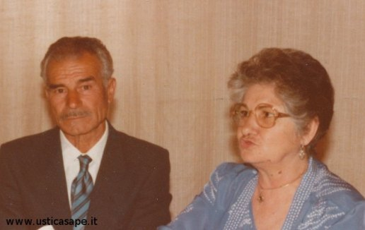 Masino Martucci e la moglie Calorina