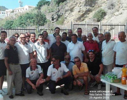 F.C.7851a Saluti a Miranda Gaetano e Martella Alessandro trasferiti dopo 3 anni a Ustica