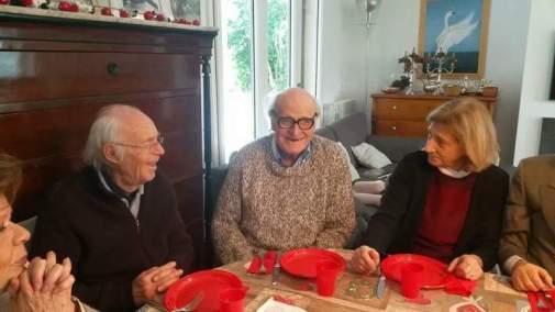 Natale di Camillo con la famiglia Pippo Giordano