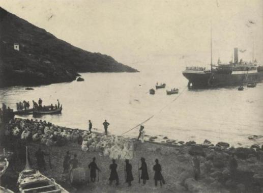 Arrivo prigionieri Arabi -1911
