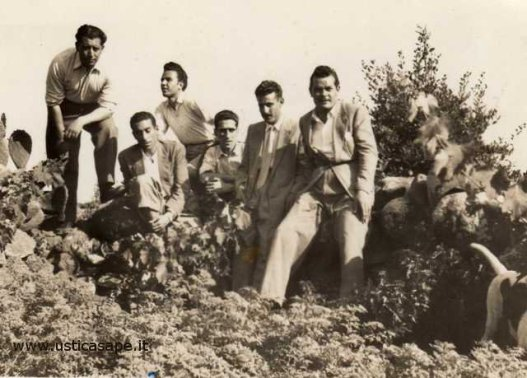 Ustica Amici della domenica 1950