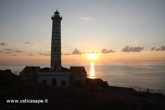 Faro Punta Cavazzi, Tramonto