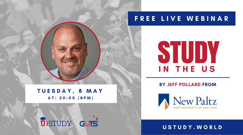 8 May, 2018 – LIVE WEBINAR with SUNY New Paltz, New York