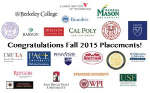 Fall-2015-Placements