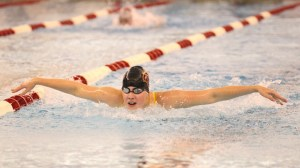 Amber visser swimming