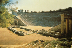 Theatre at Epidauros (click to see larger image)