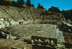 Theatre of Dionysus: orchestra (click to see larger image)