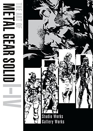 The Art of Metal Gear Solid I-IV coming in 2018