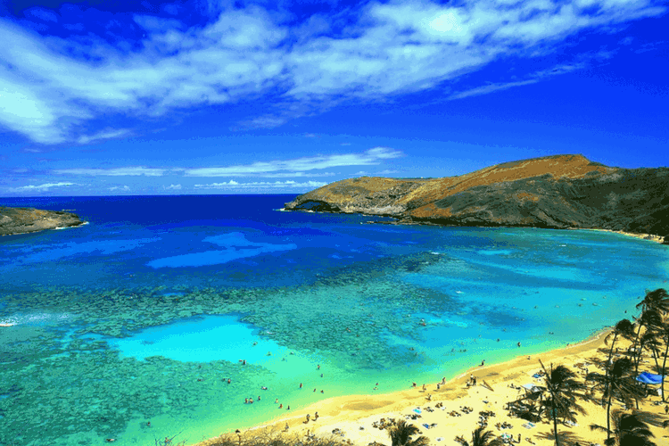 Hanauma Bay Beach Park, Hawaii