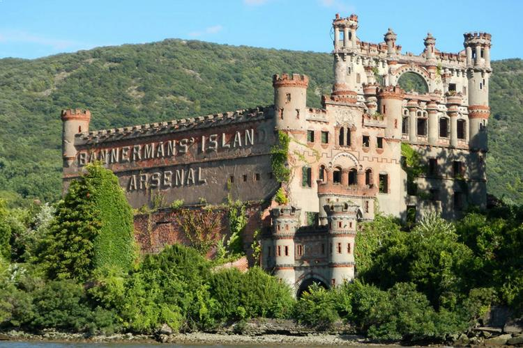 Bannerman Castle, Pollepel Island, New York