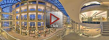 Salt Lake City Library Atrium 360 degree panorama