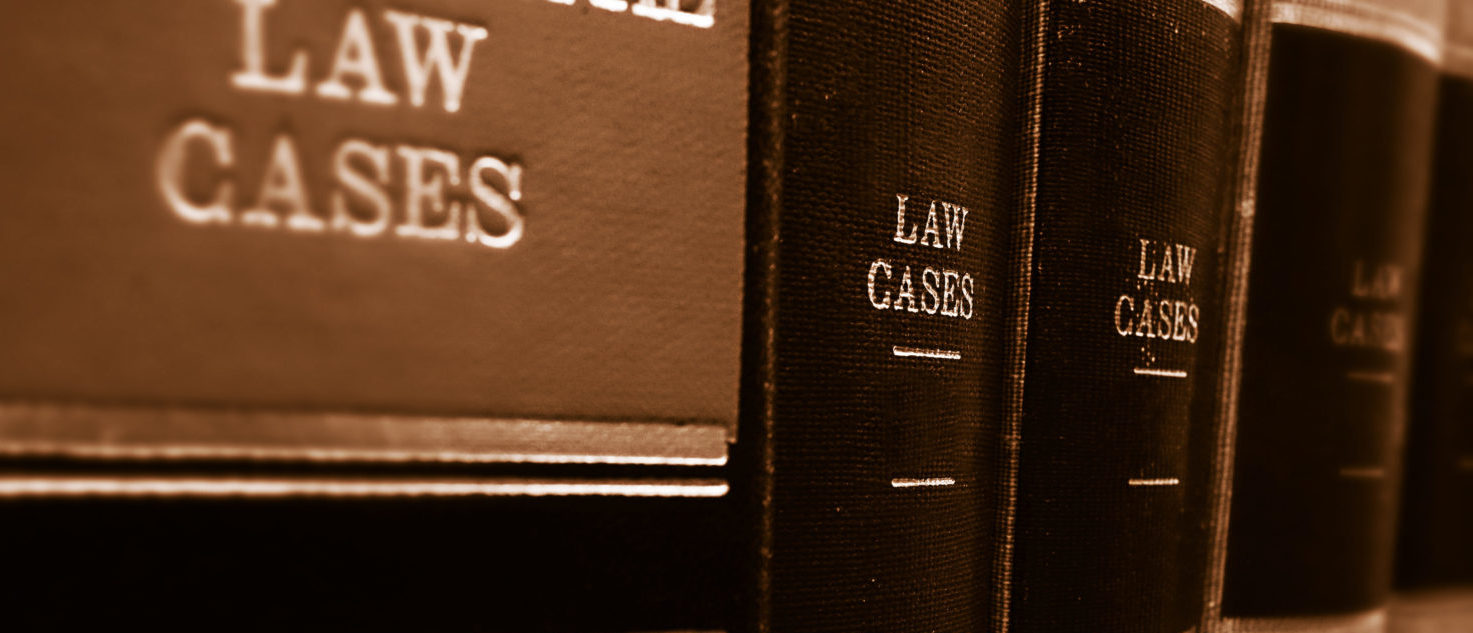 law books belonging to a paralegal practitioner
