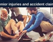 senior citizen injured from accident