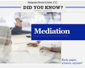 mediation in personal injury cases