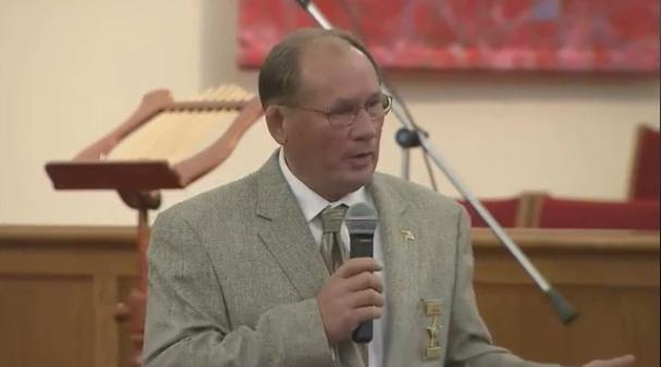 Harnett County Sheriff Larry Rollins; Screengrab via WRAL-TV