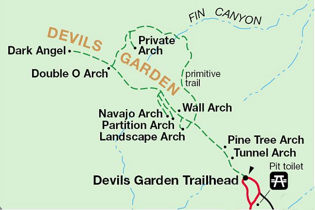 Devil's Garden Map