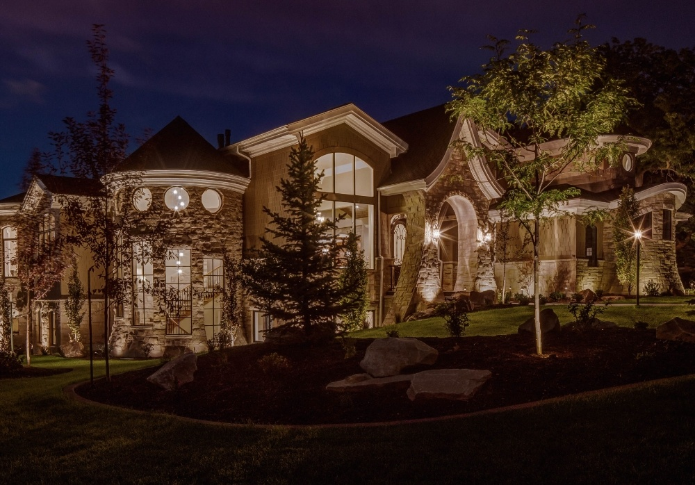 properly floodlight your house