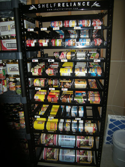 Review Shelf Reliance Can Organizer Utah Preppers