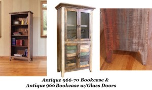 Bradley S Furniture Etc Rustic Bookshelves