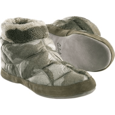 Cabelas Outfitter Camo MicroDown Slippers 899 Reg 3999 Free Shipping Utah Sweet Savings