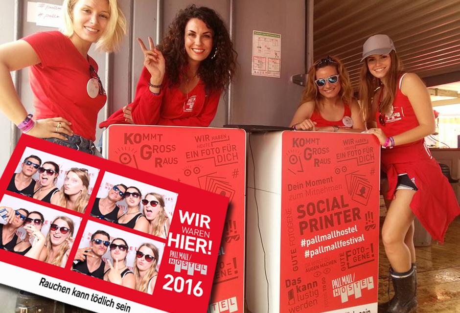 Hashtag Printer Nürburgring - Rock am Ring & Social Media