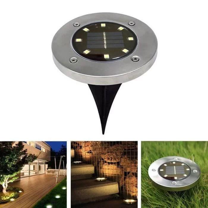 lampe solaire jardin puissante