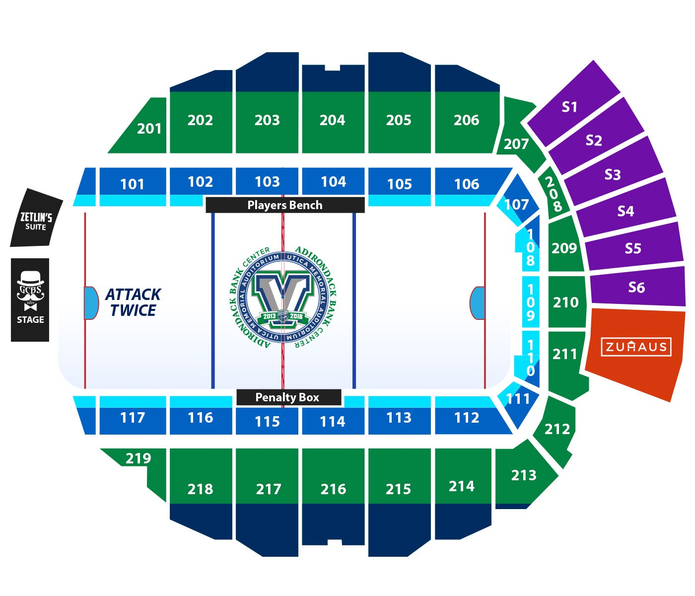 Vancouver Canucks Arena Seating Chart