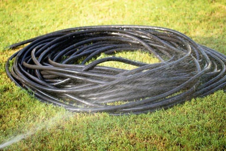Tubo per irrigazione nero